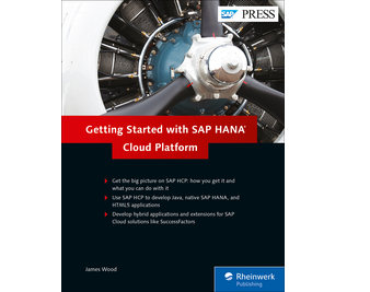 Cover of Getting Started with SAP HANA Cloud Platform