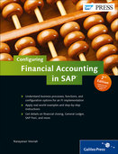 Cover von Configuring Financial Accounting in SAP