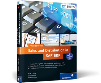Cover von Sales and Distribution in SAP ERP—Practical Guide