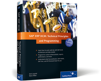 Cover of SAP ERP HCM: Technical Principles and Programming