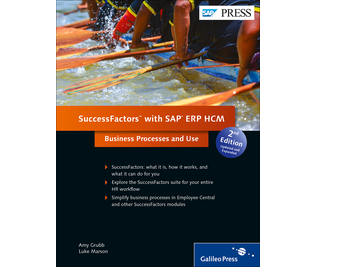 Cover of SuccessFactors with SAP ERP HCM