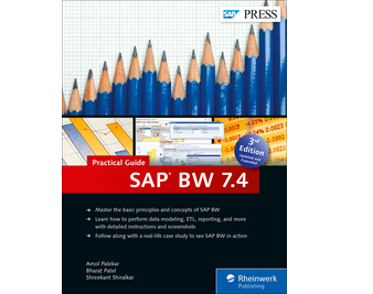 Cover of SAP BW 7.4—Practical Guide