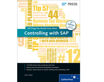 Cover von Controlling with SAP