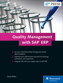 Cover of Quality Management with SAP ERP