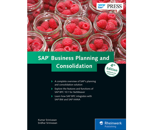 Cover von SAP Business Planning and Consolidation