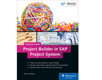 Cover von Project Builder in SAP Project System—Practical Guide