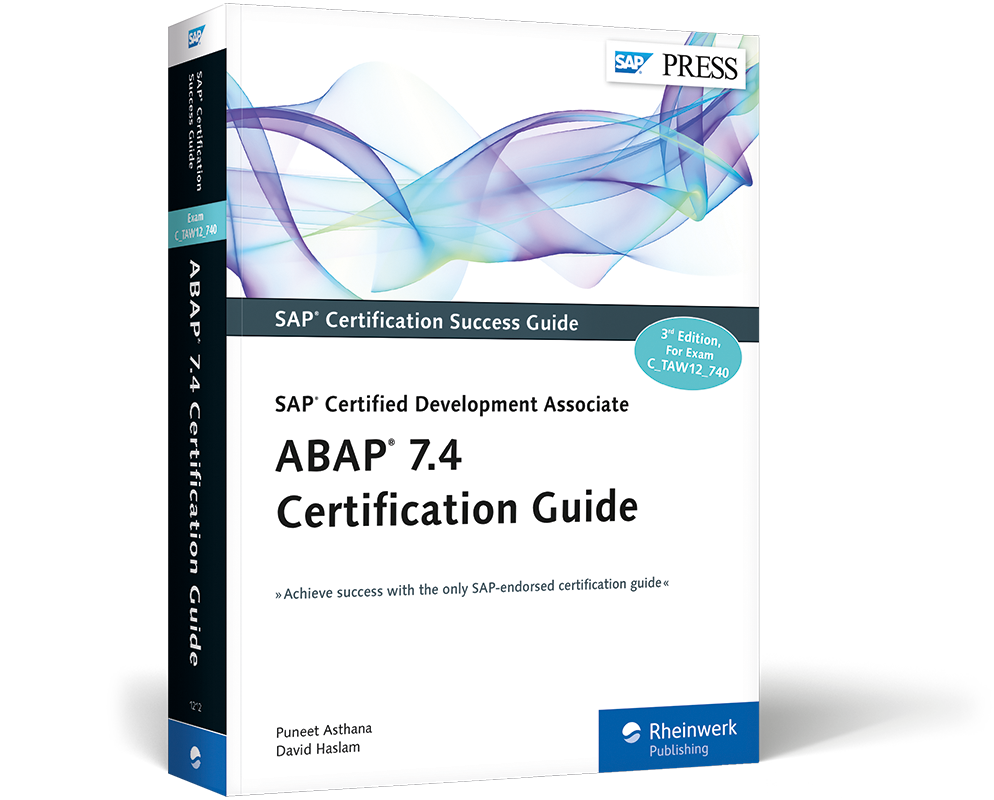 Abap 74 Certification Guide Ctaw12740 Book And E Book