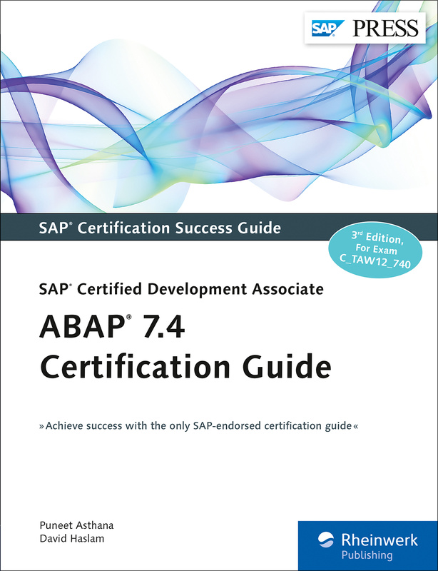 Abap 74 Certification Guide Ctaw12740 Book And E Book By
