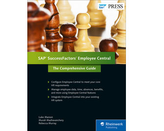 Cover von SAP SuccessFactors Employee Central