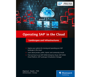 Cover von Operating SAP in the Cloud