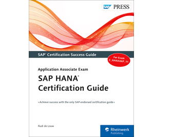 Cover of SAP HANA Certification Guide