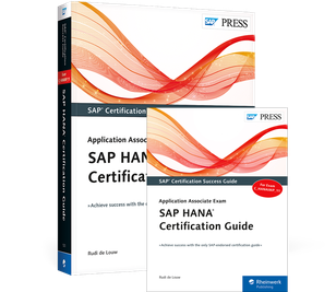 Cover von SAP HANA Certification Guide