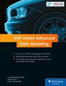 Cover of SAP HANA Advanced Data Modeling