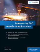 Cover von Implementing SAP Manufacturing Execution