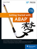 Cover of Getting Started with ABAP
