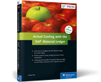 Cover of Actual Costing with the SAP Material Ledger