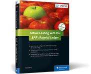 Cover of Actual Costing with the Material Ledger in SAP ERP
