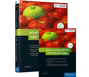 Cover von Actual Costing with the SAP Material Ledger