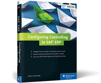 Cover of Configuring Controlling in SAP ERP