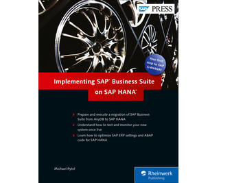 Cover von Implementing SAP Business Suite on SAP HANA