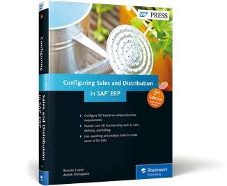 Cover von Configuring Sales and Distribution in SAP ERP
