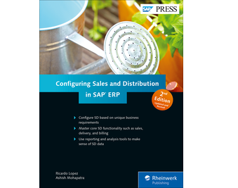 Cover of Configuring Sales and Distribution in SAP ERP