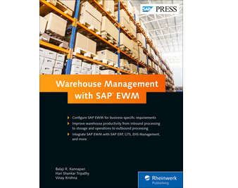 Cover of Warehouse Management with SAP EWM
