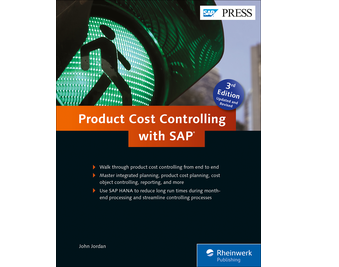 Cover of Product Cost Controlling with SAP