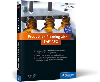 Cover von Production Planning with SAP APO
