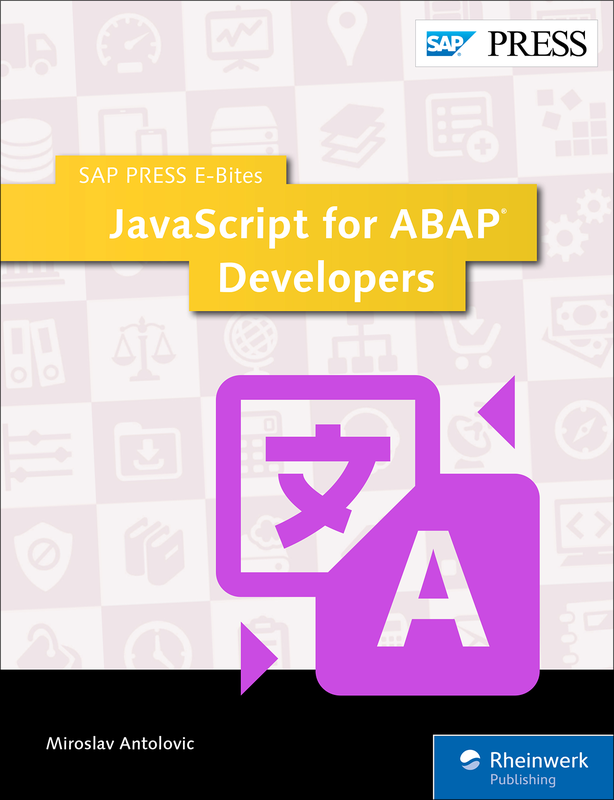 JavaScript for ABAP Developers