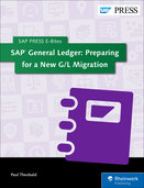 Cover von SAP General Ledger: Preparing for a New G/L Migration