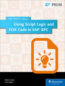 Cover von Using Script Logic and FOX Code in SAP BPC