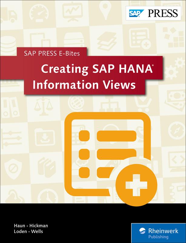 Creating SAP HANA Information Views
