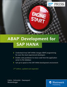 Cover of ABAP Development for SAP HANA
