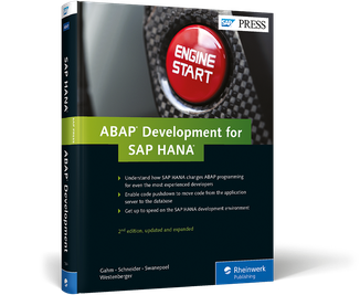 Cover of ABAP Development for SAP HANA