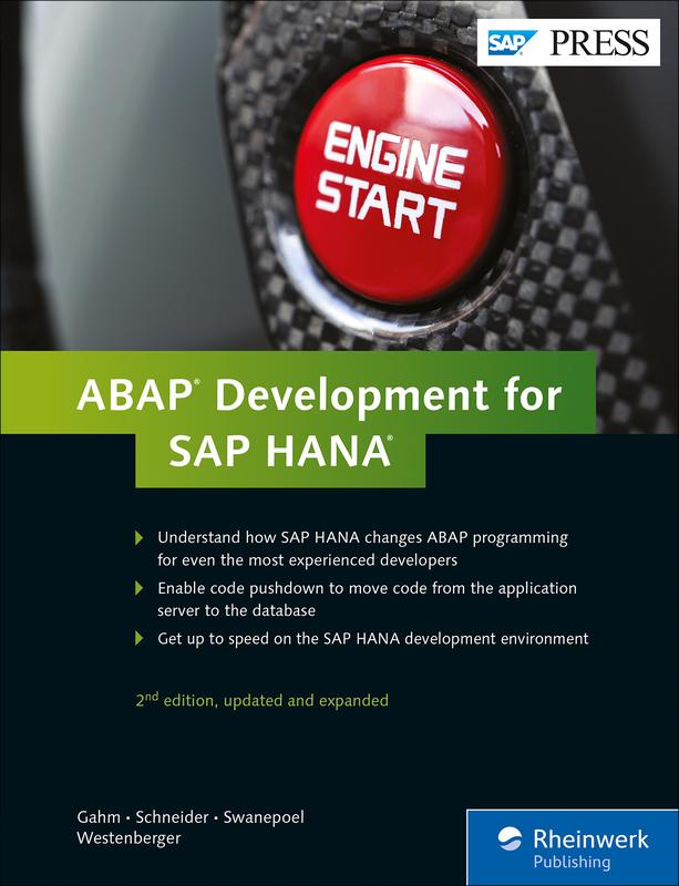 ABAP Development for SAP HANA