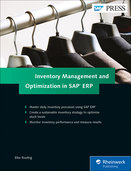 Cover of Inventory Management and Optimization in SAP ERP