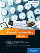 Cover of Financial Accounting in SAP: Business User Guide