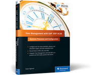 Cover of Time Management with SAP ERP HCM