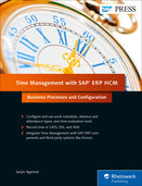 Cover von Time Management with SAP ERP HCM