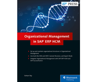 Cover von Organizational Management in SAP ERP HCM