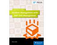 Cover of Incident Management with SAP EHS Management