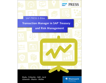 Cover von Transaction Manager in SAP Treasury and Risk Management
