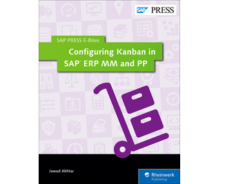 Cover von Configuring Kanban in SAP ERP MM and PP