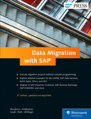 Cover of Data Migration with SAP