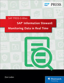 Cover of SAP Information Steward: Monitoring Data in Real Time