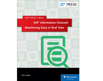 Cover von SAP Information Steward: Monitoring Data in Real Time