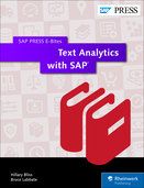Cover of Text Analytics with SAP