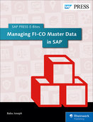 Cover von Managing FI-CO Master Data in SAP