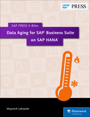 Cover von Data Aging for SAP Business Suite on SAP HANA